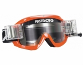 LUNETTE FIRST RACING CHROMATIK ORANGE/FLUO AVEC ROLL OFF lunettes