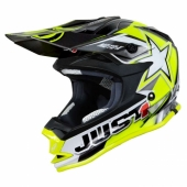 CASQUE JUST1 MOTO X JAUNE casques