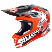 CASQUE JUST1 MOTO X ROUGE casques