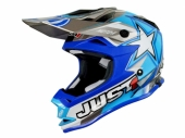 CASQUE JUST1 MOTO X BLEU KID casque kids