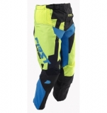 PANTALON FIRST RACING CODE KID NOIR/LIME FLUO 2018 maillot pantalon kids