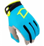 GANTS FIRST RACING DATA EVO BLEU/LIME FLUO KID  gants kids