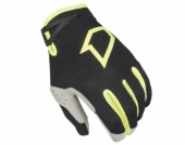 GANTS FIRST RACING DATA EVO NOIR/JAUNE FLUO KID  gants kids