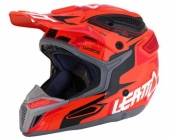 Casque LEATT GPX 5.5 Composite orange/noir/rouge casques