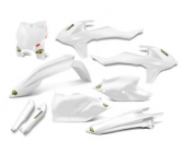 KIT PLASTIQUE CYCRA BLANC KTM 125 SX 2016-2018 kit plastique cycra powerflow