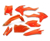 KIT PLASTIQUE CYCRA ORANGE KTM 350 SX-F 2016-2018 kit plastique cycra powerflow