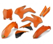 KIT PLASTIQUE CYCRA ORANGE 125 SX 2013-2015 kit plastique cycra powerflow
