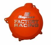 couvercle de carter d 'embrayage boyesen orange KTM 300 EX-C 2009-2016 couvercle d'embrayage boyesen