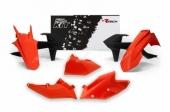 Kit plastique RACETECH couleur origine orange/noir KTM 250 EX-C 2017 kit plastiques racetech