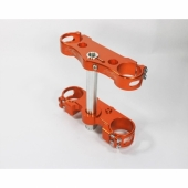 TE DE FOURCHE KITE ORANGE HUSQVARNA TE/FE 125 A + 2015-2019 te de fourche kite