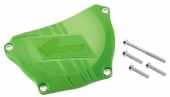 Protection de carter d'embrayage UFO VERT KAWASAKI 250 KX-F 2009-2017 protection carter embrayage