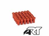 Kit têtes de rayon universel anodisées A.R.T orange pour rayons Ø 4mm têtes de rayons