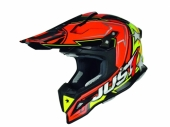 Casque Just1 J12 Aster orange/jaune taille casques