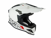 Casque Just1 J12  blanc casques