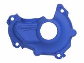 Protection de carter d'allumage POLISPORT bleu Yamaha 450 YZ-F 2014-2018 protection carter allumage
