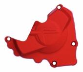 Protection de carter d'allumage POLISPORT rouge Honda 250 CR-F 2010-2017 protection carter allumage