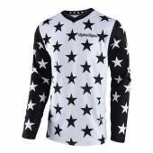Maillot Troy Lee Designs GP Star Blanc Noir 2018 maillots pantalons