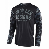 Maillot Troy Lee Designs GP Cosmic Camo Gris 2018 maillots pantalons