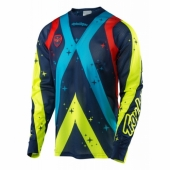 Maillot Troy lee Designs SE Air Phantom Bleu maillots pantalons