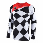 Maillot Troy Lee Designs SE Joker Blanc Noir 2018 maillots pantalons