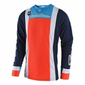 Maillot Troy Lee Designs SE Squadra Bleu Orange 2018 maillots pantalons