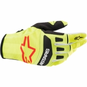 Gants Troy Lee Designs XC Starburst Bleu Jaune gants