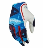 Gants Troy Lee Designs XC Cosmic Camo Bleu gants