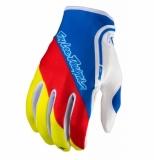 Gants Troy Lee Designs XC Corsa Bleu Jaune gants