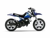 Kit plastiques ART blanc + kit déco KUTVEK Racer bleu Yamaha PW50 plastique pw