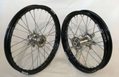 PAIRE DE ROUE COMPLETES SUZUKI 125 RM 2001-2013 roues completes