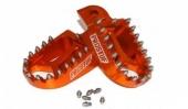 REPOSE PIEDS PROSTUF ORANGE KTM  200 SX 1998-2003 reposes pieds