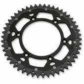 COURONNE MOOSE RACING ACIER/ALU NOIR KTM 125 EX-C 2001-2016 pignon couronne