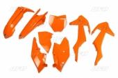 Kit plastiques UFO orange fluo KTM 250 SX 2017 kit plastiques ufo