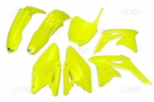 Kit plastiques UFO jaune fluo Suzuki 450 RM-Z 2014-2017 kit plastiques ufo