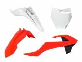 Kit plastiques RACETECH couleur origine 16 orange/blanc KTM 65 SX 2016 kit plastiques racetech