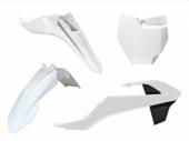 Kit plastiques RACETECH blanc KTM 65 SX 2016-2017 kit plastiques racetech
