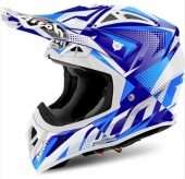 CASQUE AIROH AVIATOR 2.2 FLASH BLEU casques