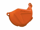 Protection de carter d'embrayage POLISPORT orange KTM 250/350 SX-F  2011-2015 protection carter embrayage