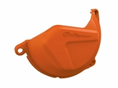 Protection de carter d'embrayage POLISPORT orange KTM 450 SX-F 2013-2015 protection carter embrayage