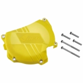 Protection de carter d'embrayage UFO JAUNE SUZUKI 450 RM-Z 2011-2017 protection carter embrayage