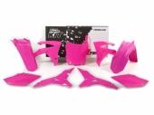 Kit plastiques RACETECH rose fluo Honda 450 CR-F 2013-2016 kit plastiques racetech