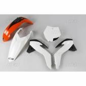 Kit plastiques UFO origine  orange/blanc/noir KTM 85 SX 2017 kit plastiques ufo