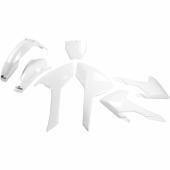 Kit plastique UFO BLANC Husqvarna 250 TC 2016-2017 kit plastiques ufo