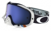 LUNETTE OAKLEY Crowbar Troy Lee Designs Series écran Ice Iridium lunettes