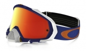 LUNETTE  OAKLEY Mayhem Pro Shockwave Blue écran Fire Iridium lunettes