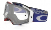 LUNETTE OAKLEY Airbrake High Voltage RWB blanc écran transparent lunettes