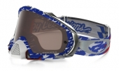 LUNETTE OAKLEY Mayhem Pro Troy Lee Designs Edition écran Prizm MX Black Iridium lunettes
