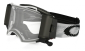 LUNETTE OAKLEY Airbrake Race Ready Roll-Off blanc Matte Speed écran transparent lunettes