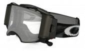 LUNETTE  OAKLEY Airbrake Race Ready Roll-Off Jet noire Speed écran transparent lunettes