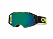 LUNETTE OAKLEY Airbrake Factory Pilot Thumb Green écran Prizm MX Black lunettes